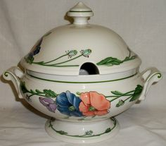 Villeroy & and  Boch AMAPOLA Tureen - 1st Quality