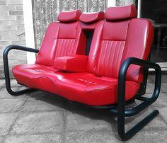 Тема диванов, оформленных в стиле различных автомобилей или, даже использующих некоторые кузовные...
