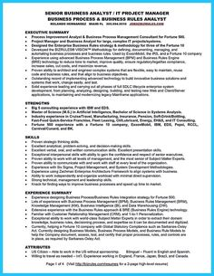 Insurance Business Analyst Sample Resume Prepossessing Awesome Create Your Astonishing Business Analyst Resume And Gain The .