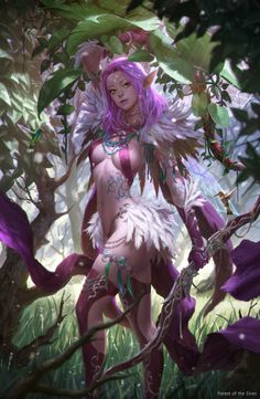 Exotication... | Forest of the Elves by KilartDev