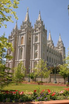 Temple Square is open every day from 9A-9P. On your visit to Temple Square's 35 acres, you will be able to see, feel, taste, touch and experience Mormon culture  the pioneer heritage. Guided tours feature historic sites, interactive exhibits, art displays, 70-mm films, parks  gardens. Also featured are the largest genealogy library of its kind in the world  the renowned Mormon Tabernacle Choir  Orchestra at Temple Square. Enjoy all of this in the heart of downtown SLC. Everyone welcome!