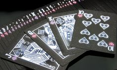 Bicycle Starlight Black Hole Playing Cards by Collectable Playing Cards