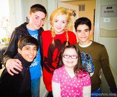 Cameron Boyce, Spencer List, Kids Cast, Big Bang Theory Quotes, Karan Brar, Emma Ross, Peyton List, Disney Xd, Now And Forever
