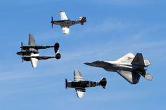 https://flic.kr/p/Dk8ATo | Heritage Flight - Planes of Fame Airshow 2014