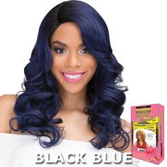 A New Style Can Be Yours Today When You Put On The Janet Collection Human Hair Blend Brazilian Scent Lace Wig – Roslin. Grab It Today From Divatress. Braided Ponytail Hairstyles, Indian Hairstyles, Trendy Hairstyles, Weave Hairstyles, Straight Hairstyles, Natural Looking Wigs, Natural Wigs, Bouncy Hair, Best Wigs