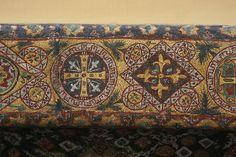Mosaics inside the Hagia Sofia