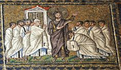 Jesus Appears to the Apostles Church of Sant'Apollinare Nuovo, Ravenna