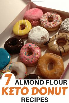 Diet Recipes You can always make your own donuts at home. Just substitute all-purpose flour with some almond flour and you're on your way to keto-friendly donuts. To help you get started, here are 5 guilt-free almond flour keto donut recipes. Chocolate Low Carb, Chocolate Donuts, Low Carb Donut, Low Carb Keto, Keto Friendly Desserts, Low Carb Desserts, Donut Recipes, Dessert Recipes, Healthy Recipes
