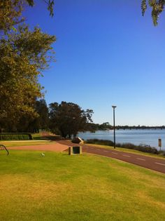 Burswood Park, Burswood, WA. Great place for kids to play. Fully enclosed playground, BBQs, toilets and shade