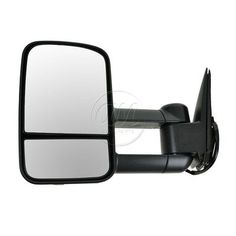 03-07 Chevy Truck Towing Black Power Heated Side View Door Mirror Driver Left LH