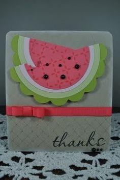 It's a patchwork life blog. cute summer card!