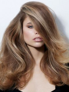 Fall Hairstyle Ideas: Ashy blondes are in for 2013 Fall and Winter. Beautiful warm undertones and lowlights give summer blonde a new winter look. Get the look with Remy Clips clip-in hair extensions.  www.remyclips.com