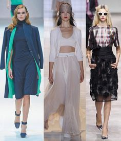 Guy Laroche, Dries Van Noten y Rochas_ Paris Fashion Week PFW S/S13