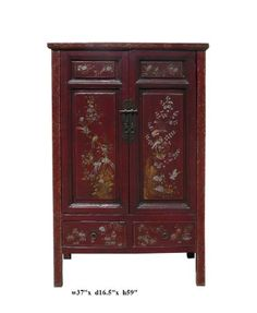 Vintage Chinese Flower Bird Graphic Accent Armoire Avs634 A Large Cabinet http://www.amazon.com/dp/B0058P14KC/ref=cm_sw_r_pi_dp_sNwWub0BWQX0T