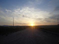 Sunset in Bovino, Italy