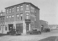 Groningen<br />De stad Groningen: De Tuinbouwstraat nummer 101. Garage H. Bossinade in 1922.