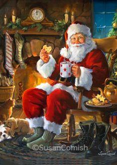 Santa's Cookie Break