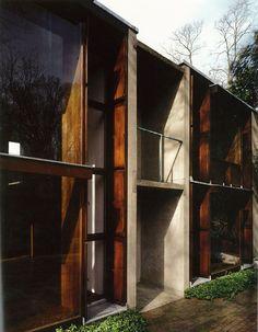 Louis Kahn - Esherick House (1959 - 61) Photography by Todd Eberle #GISSLER #interiordesign