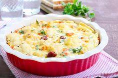 Prijedlog za ručak: Gratinirani karfiol u bešamelu Batch Cooking, Easy Cooking, Cooking Recipes, Healthy Thanksgiving Recipes, Good Food, Yummy Food, Romanian Food, Arabic Food, Vegetable Recipes