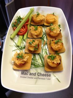 Mac and Cheese Bites #Southern #Catering #appetizers # MacandCheese