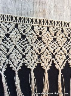 Italian Needlework: Macramè from Chiavari
