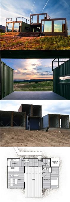 Container House - Cool 87 Shipping Container House Plans Ideas - Who Else Wants Simple Step-By-Step Plans To Design And Build A Container Home From Scratch? #ShippingContainerHomePlans