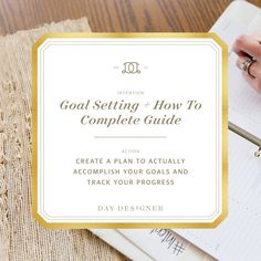 Three of our best tips to set and actually accomplish goals that are balanced and holistic. Part of the Intentional April series from Day Designer.