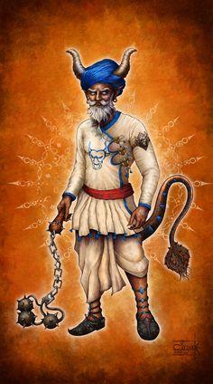 Indian Warrior by Anant-art.deviantart.com on @DeviantArt  #dwarf #wow #dnd #paizo #pathfinder #wizardofthecoast #paizoart #indianartist #aishwaaryanant #game #illustration #characterdesign #conceptart #tcggame #rpggame #mtggame #tcg #rpg