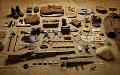 1916 private soldier kit krom The Battle of the Somme - While the First World War was the first modern war, as the Somme kit illustrates, it was also primitive. Along with his gas mask a private would be issued with a spiked 'trench club' – almost identical to medieval weapons.