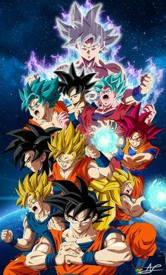 Browse DRAGON BALL Goku collected by Marco Barahona and make your own Anime album. Dragon Ball Gt, Dragon Ball Image, Goku Dragon, Goku Super, Super Saiyan 1, Goku All Forms, Wallpaper Do Goku, Dragonball Wallpaper, News Wallpaper