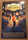 If / Then Signed Poster Broadway Idina Menzel Anthony Rapp Playbill frozen Rent - ANTHONY, Broadway, frozen, Idina, Menzel, Playbill, POSTER, Rapp, Rent, Signed