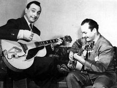 Jean Baptiste 'Django' Reinhardt (January 1910 - May was a Belgian Gypsy jazz musician. Guitar Guy, Guitar Pics, Jazz Guitar, Guitar Players, Jazz Players, Gypsy Jazz, Jazz Artists, Jazz Musicians, Gypsy Guitar
