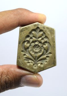 Vintage Indian Original Jewellery Pendant Bronze Dye/Seal/Stamp. G46-47 by GlobalArtAntiques on Etsy