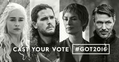 For those who don't see the right banner on the ballot: cast your vote for #GOT2016 to help decide the next leader of the Realm. Own Season 6 now to get to know the candidates.