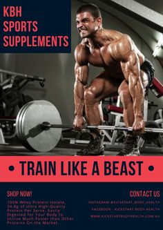 KBH Sports Supplements providing outstanding quality products whether your an Elite athlete or weekend warrior kick starting your fitness journey