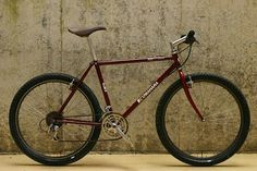 I dig the old mtb's. This one has nice details. Retro Bicycle, Bmx Bicycle, Mtb Bike, Bmx Bikes, Cycling Bikes, Retro Bikes, Commuter Bike, Touring Bike, Electric Bicycle