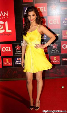 Shruti Hassan In Yellow Fever at Bollywood Hotties Yellow Fever picture gallery picture # 392 : glamsham.com