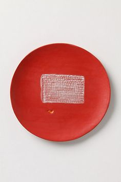 Artful Dinner Plate, Right Angles #anthropologie