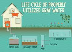 Making Use of Gray Water in Your Home - Life Cycle of Properly Utilized Gray Water