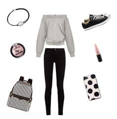 """""""helemaal mooi😂😂😂😂😂😂😂"""" by lois02 ❤ liked on Polyvore featuring Gucci, Converse, Henri Bendel, Kate Spade, Alex and Ani and MAC Cosmetics"""