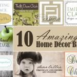 10 Places To Shop For Decorating Your Home On A Budget — My Blessed Life™