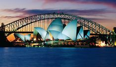 Sydney, Australia...I want to go there one day! (: