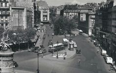 Place Clichy 1950