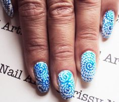 Nail Art How To, Tutorial, Step-by-Step, Acrylic Paint Nails, Japanese Flower Vase Nails | NailIt! Magazine