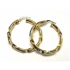 REF:110138560139.Pendientes de plata de primera ley chapada en oro amarillo de aro.PRECIO:33,70€