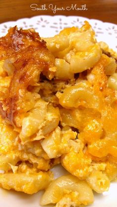 South Your Mouth: Southern-Style Crock Pot Macaroni & Cheese