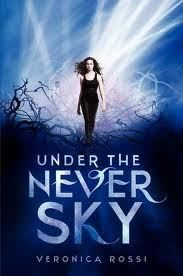 Under the Never Sky by Amanda Hocking. Reqlly want to read this!!! I absolutely love this author she is amazing! #amanda Hocking #love reading