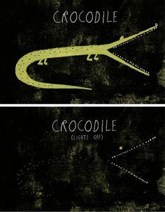 crocodile by rob hodgson