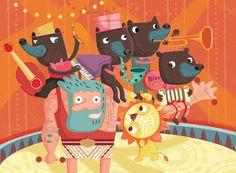 Childrens Book -Various by Stephanie Hinton, via Behance