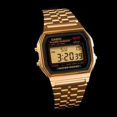 Montre Casio doré sur Boutique Vintage
